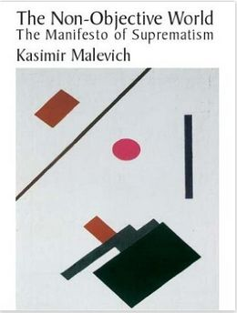 The cover of 'The Non-Objective World' by Kasimir Malevich