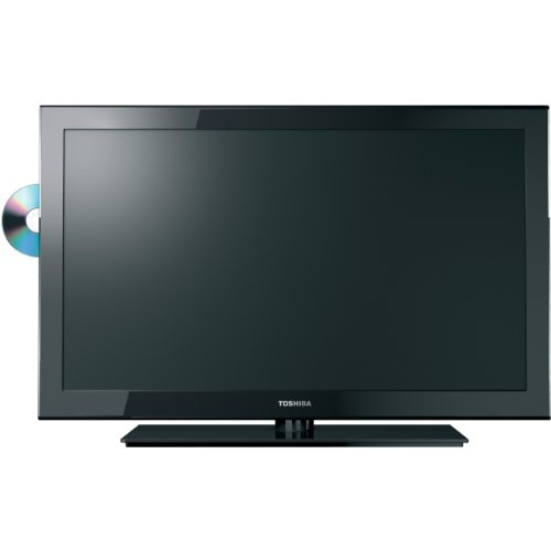 Toshiba 24SLV411U 24-Inch 1080p LED-LCD HDTV with Built-in DVD Player, Black $271.99