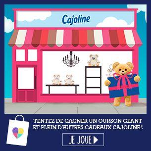Tentez de gagner un ourson géant et plein d'autres cadeaux Cajoline ! - Ma vie en couleurs