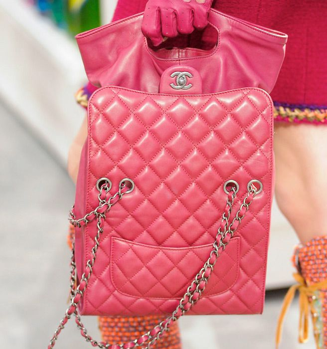 Chanel Bags Fall 2014 - The Best Chanel Bags from PFW Fall 2014 - ELLE | Cynthia Reccord