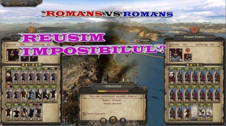 Total War Attila #3 ROMANI VS ROMANI