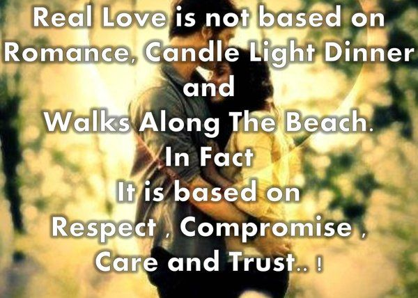 real quotes of love