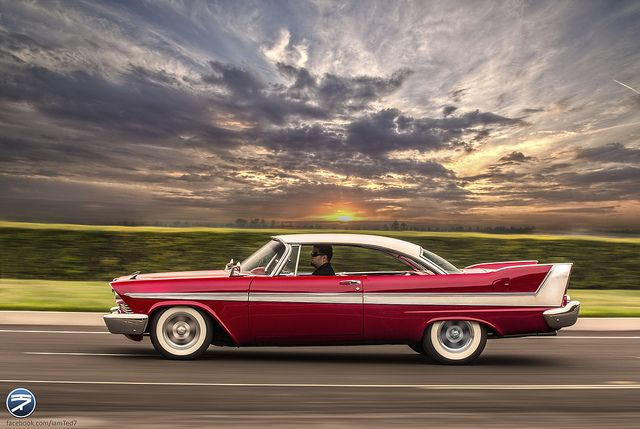 "1958 Plymouth Fury - MY DREAM CAR!!! ever since I read ""Christine"" by Stephen King..."
