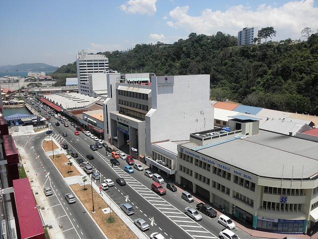 View Over Kota Kinabalu City Centre North