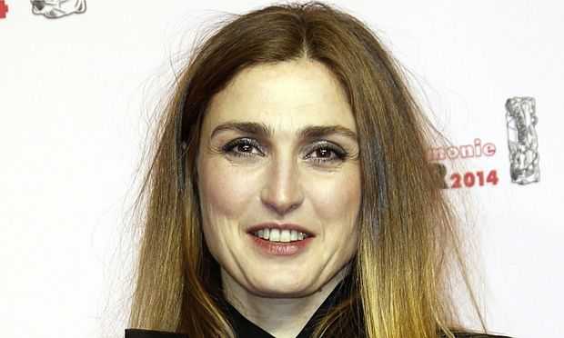 Julie Gayet at the César awards in Paris last month