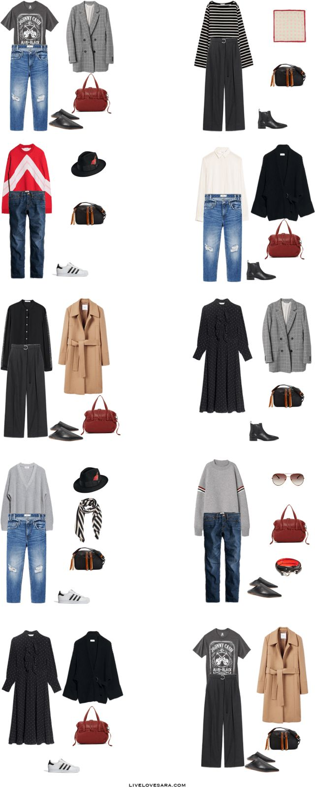 What to Pack for Munich, Florence, and Serbia Packing Light List Outfit Options 1-10 | What to What to Pack for Munich | What to What to Pack for Florence | What to What to Pack for Serbia | Packing Light | Packing List | Travel Light | Travel Wardrobe | Travel Capsule | Capsule |