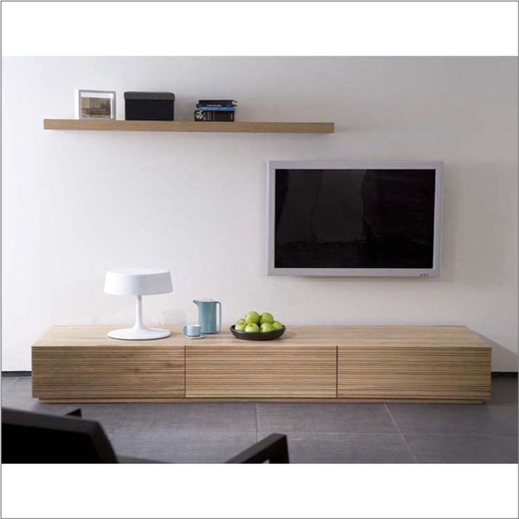 Oak Stonecut Lowline Entertainment Unit from Volume Furniture