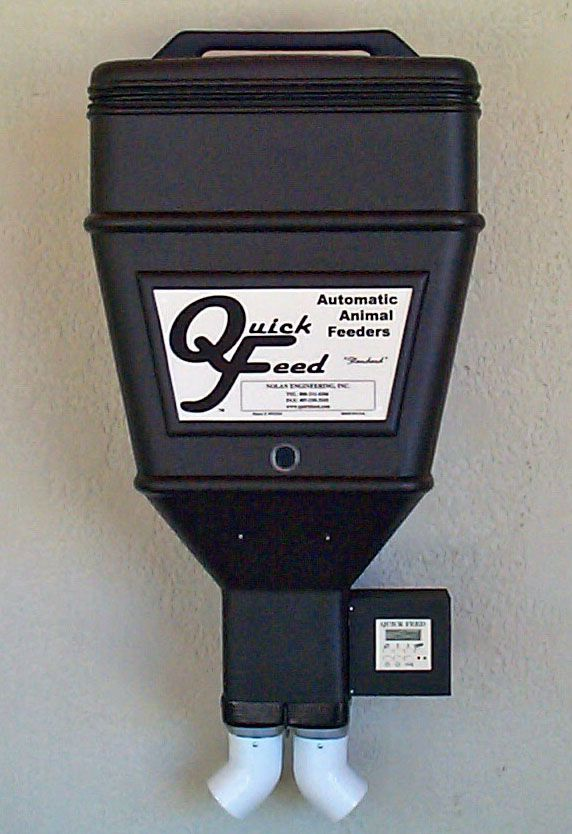 Quick Feed Automatic Electronic Horse and Pet Feeders - Unique Distributors