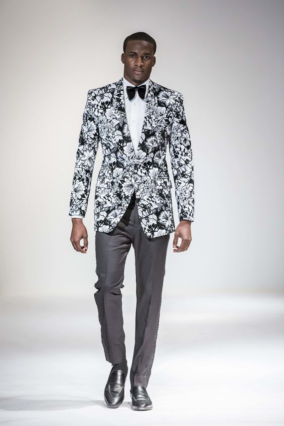 Igwedinma Rodney Emeka of McMeka @ Africa Fashion Week New York 2014