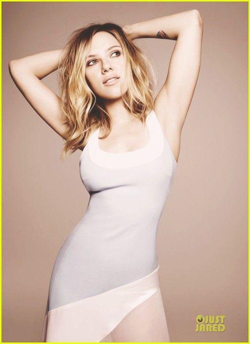 Celeb Diary: Scarlett Johansson in Elle UK (februarie 2013)