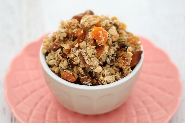 Thermomix Apricot & Chia Granola