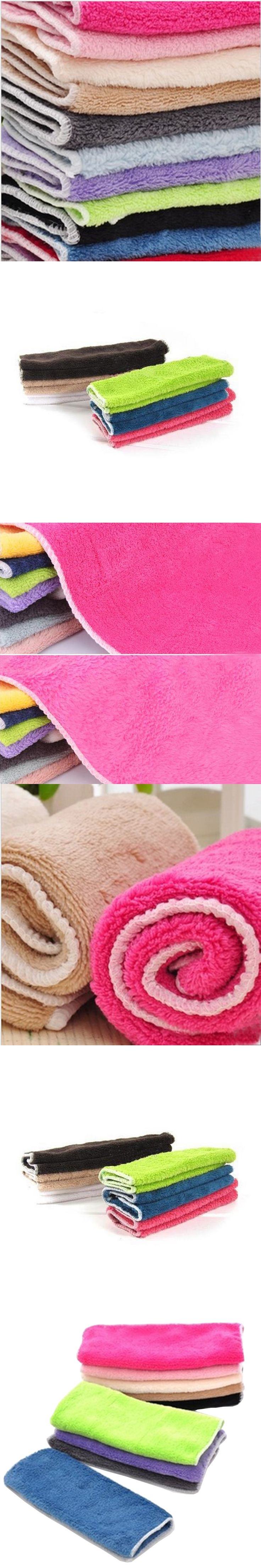 ISHOWTIENDA New Arrival Anti-grease Cloth Bamboo Fiber Washing Towel Magic Kitchen Cleaning Wiping Rags