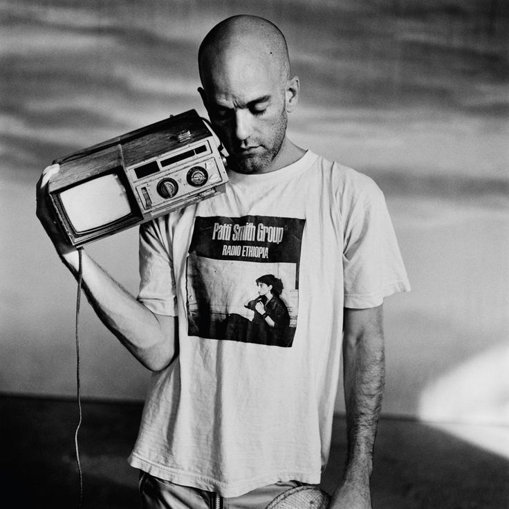 Michael Stipe shot by Anton Corbijn Los Angeles 1996