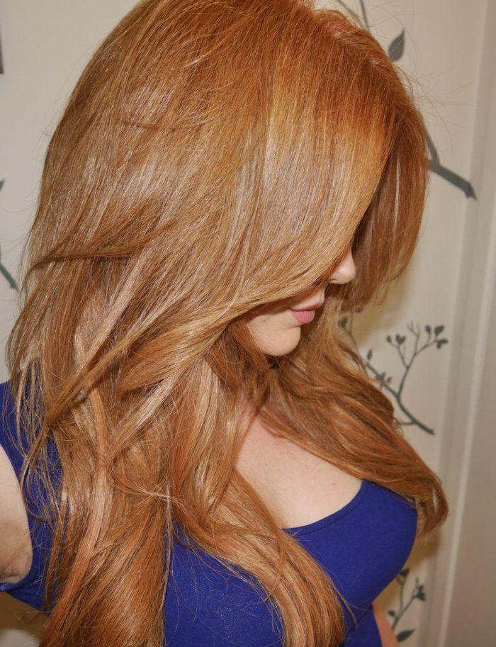Les 25 meilleures id es de la cat gorie blond v nitien sur pinterest cheveux blonds fraise - Comment obtenir blond venitien ...