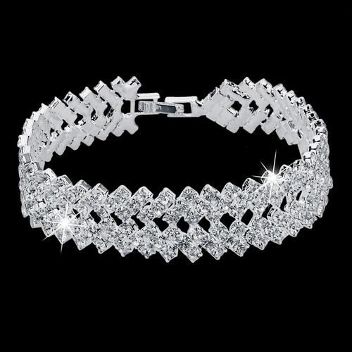 Crystal Double Bracelet    BUY HERE => www.beeutifuljewels.com