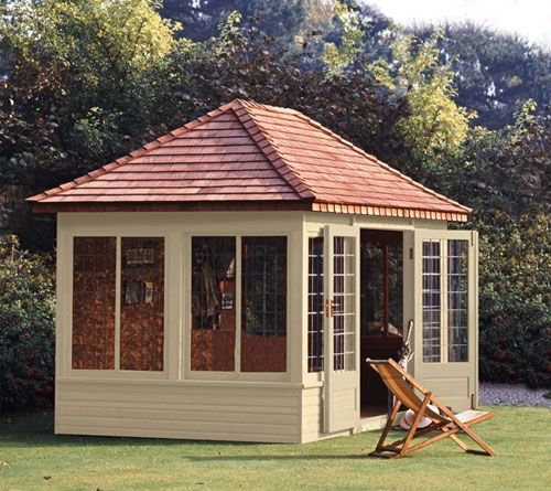 The Henley Provides A Large And Airy Outdoor Room For Entertaining Or As An  Office,