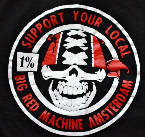 RARE Hells Angels Amsterdam Support Shirt Large 81 Sylha. Help a brother get back on the road!