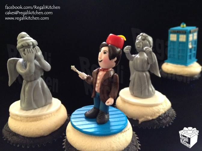 Doctor Who Cupcakes | by The Regali Kitchen