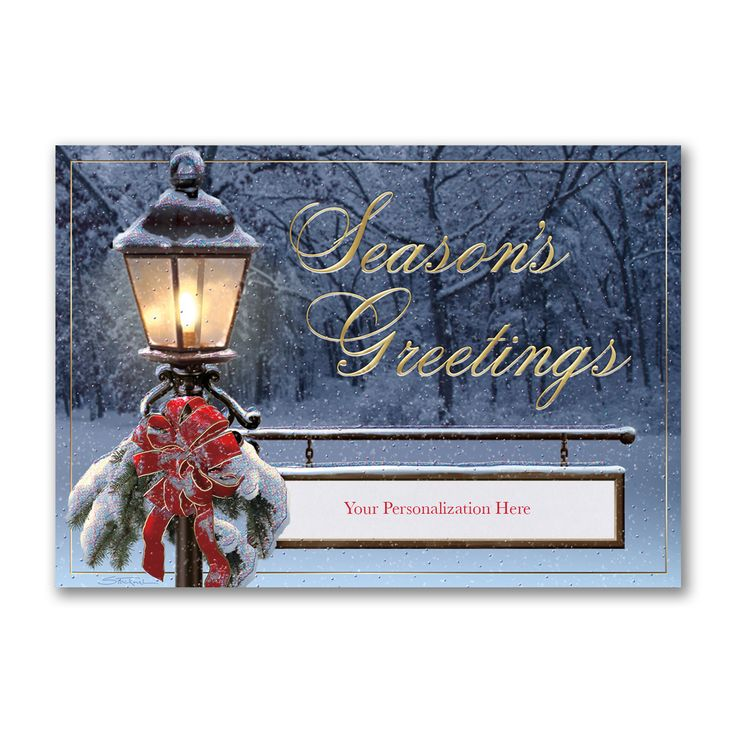 61 best Personalized Season\'s Greetings Holiday Cards images on ...