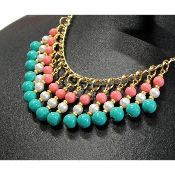 Simple to make bib necklace