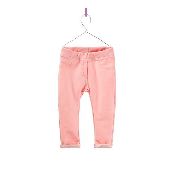 denim and velour leggings