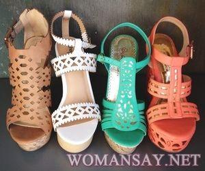 Модная летняя женская обувь!