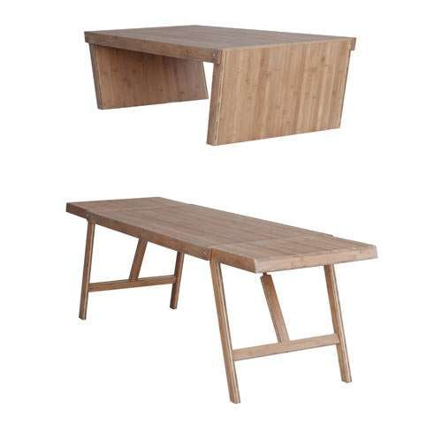 Tom Rossau Combines Functions with the TT01 Convertible Table #homedecor trendhunter.com