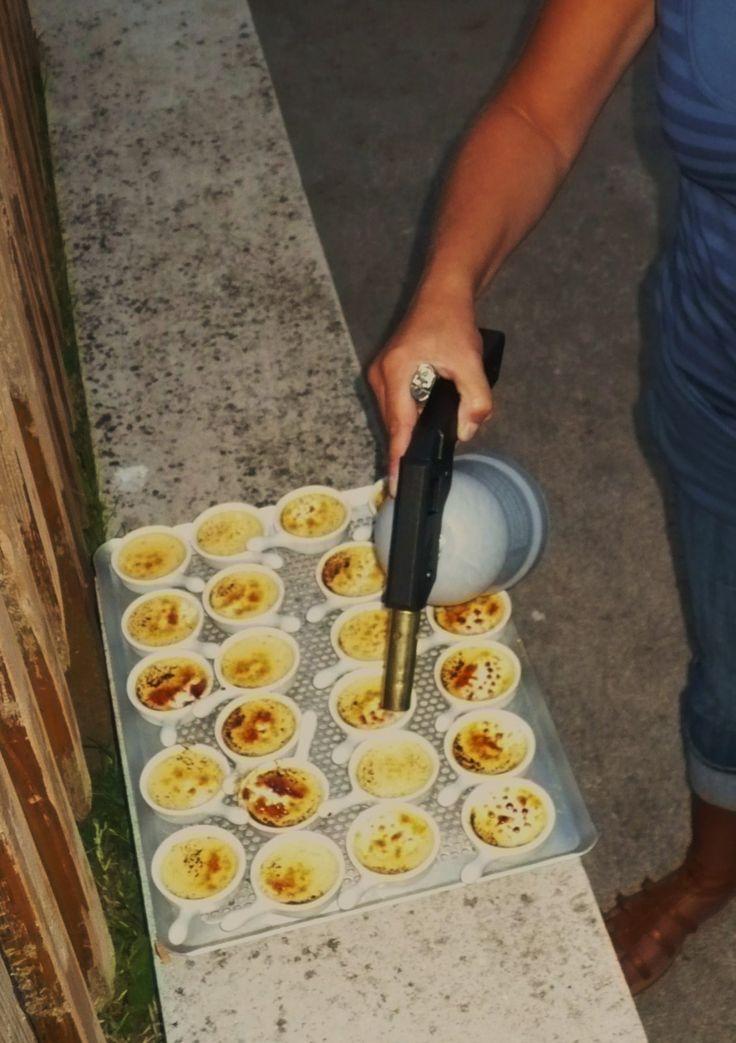Petites crèmes brûlées au saumon fumé pour l'apéritif - La popotte de Manue