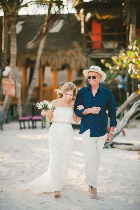 Beautiful Father of the Bride (and Groom) Moments | Bridal Musings Wedding Blog 17