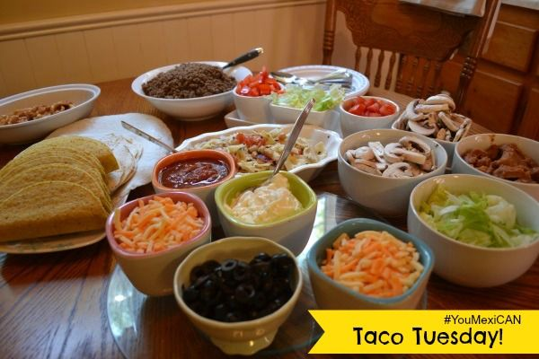 A delicious spread for #TacoTuesday #YouMexiCAN