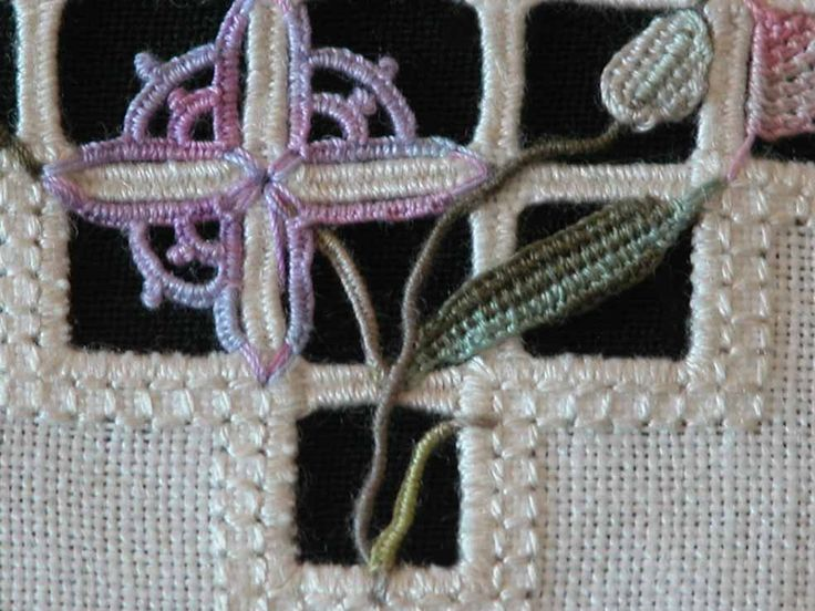 Reticello, Reticella, Giuliana Buonpadre, Flowers in reticello, Fleurs en reticello, Fiori di reticello,