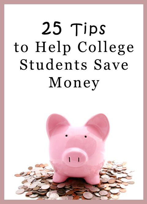 Money Saving Tips for College Students. Where does your money go? It is important to know where you are spending your money. This will allow you to develop better spending habits. Make a budget. Estimate your monthly income and expenses. Live like a college student. The reality is .