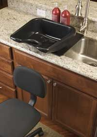 Portable Shampoo Bowl For Kitchen Sink Primitive Cabinets Best 25+ Bowls Ideas On Pinterest | Salon Chairs ...