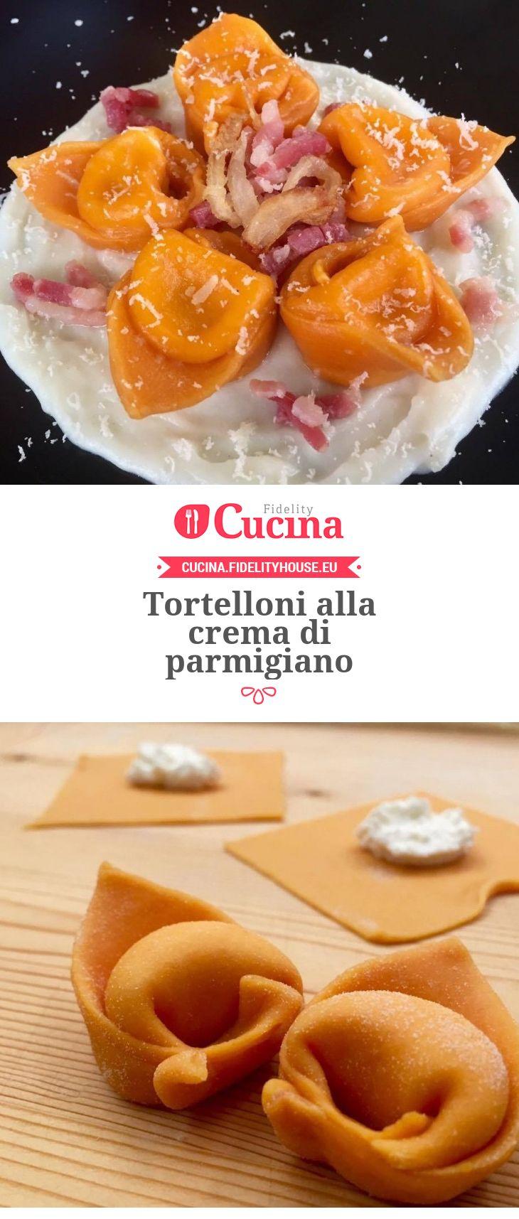 #Tortelloni alla crema di #parmigiano della nostra utente Elena. Unisciti alla nostra Community ed invia le tue ricette!