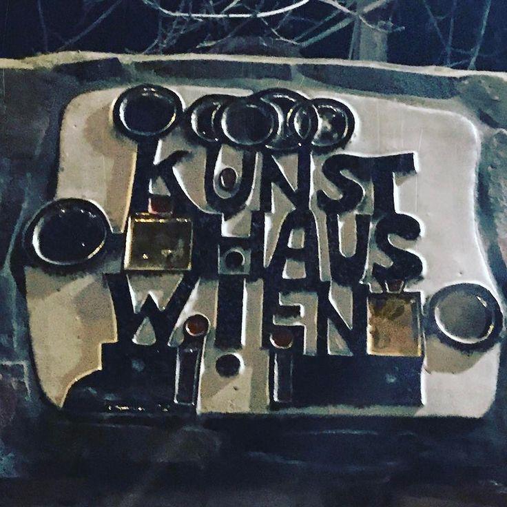 Мой любимый Хундертвассер  в Вене.  #вена #австрия #путешествие #зима #2017 #travel #austria #winter #january #osterreich #hundertwasser