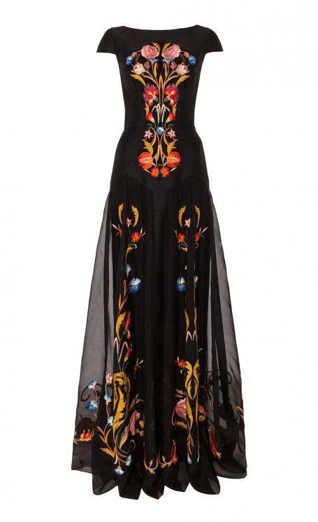 Long Toledo Dress - Temperley London on Melrose