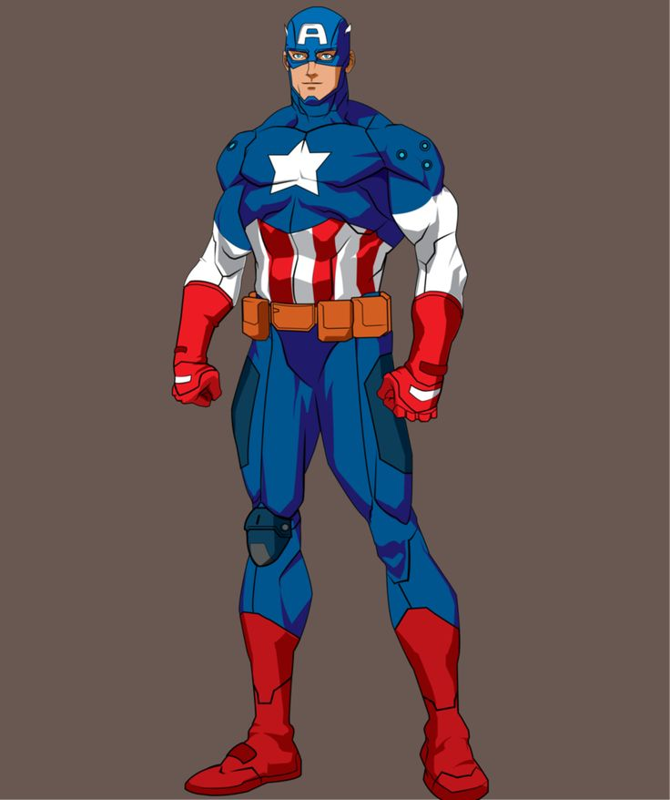 Captain-America by dahsar