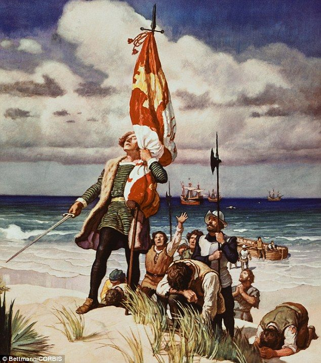 an analysis of the actions by cristoforo colombo a spanish explorer Dna analysis of the remains of spanish explorer christopher columbus is cristoforo colombo, spanish cristóbal colón, ( born between august 26 and.