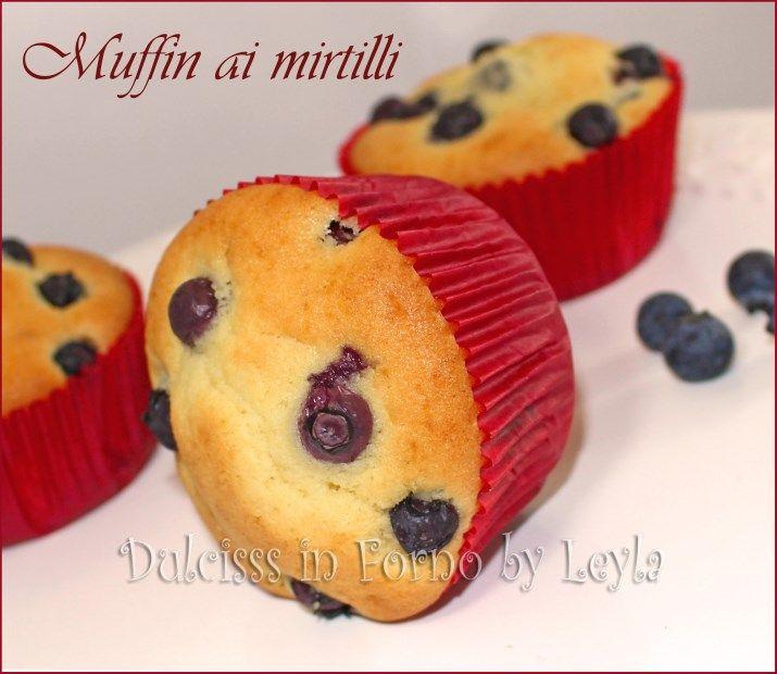 Muffin ai mirtilli soffici soffici per la colazione