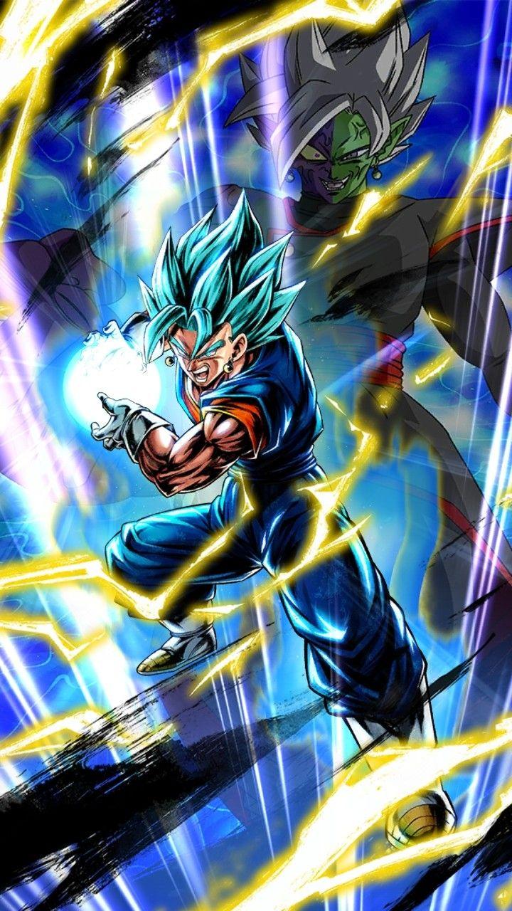 Super Saiyan God Super Saiyan Vegito Ssb Vegito Dragon Ball Art Goku Dragon Ball Artwork Dragon Ball Super Artwork