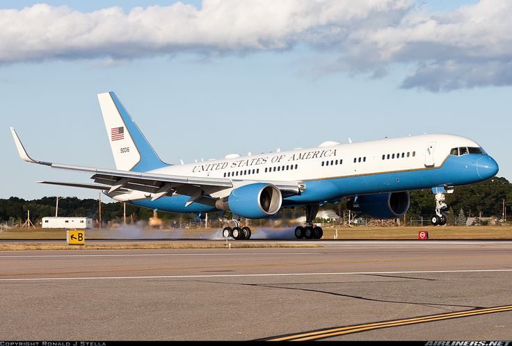 Occasionally Air Force One becomes a Boeing C-32A (757-200).  Until at the end of Ronald  eagan's term, this is all the size the POTUS had in that a Boeing 707 was used since the Ike/JFK era.