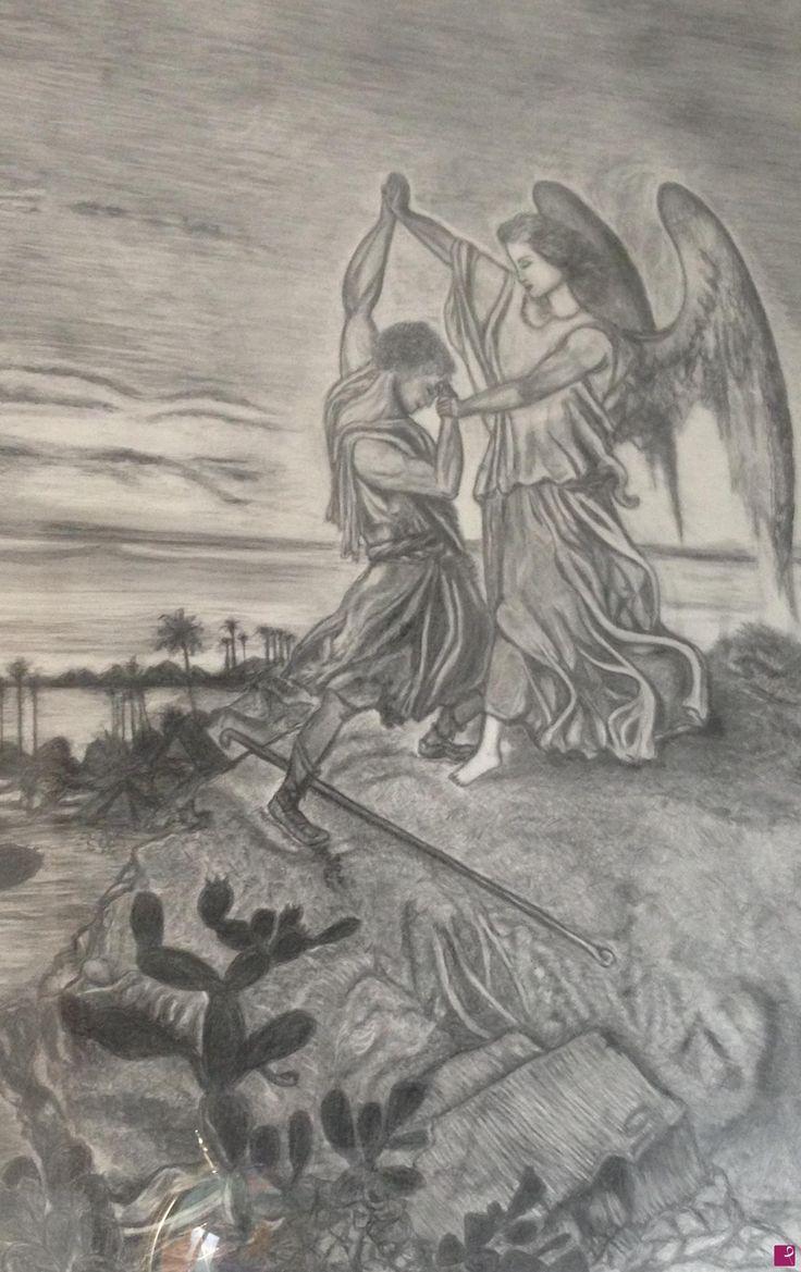 Giacobbe che combatte con l'angelo del Signore di Nefertari
