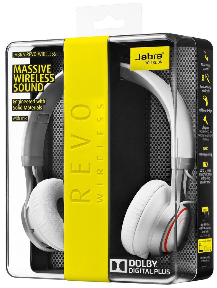 Jabra Revo Wireless Bluetooth On-Ear Headphones with: Amazon.co.uk: Electronics