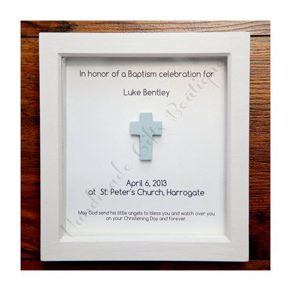 Personalised Baptism/Christening Gift for by HandmadeGiftBoutique, £20.37