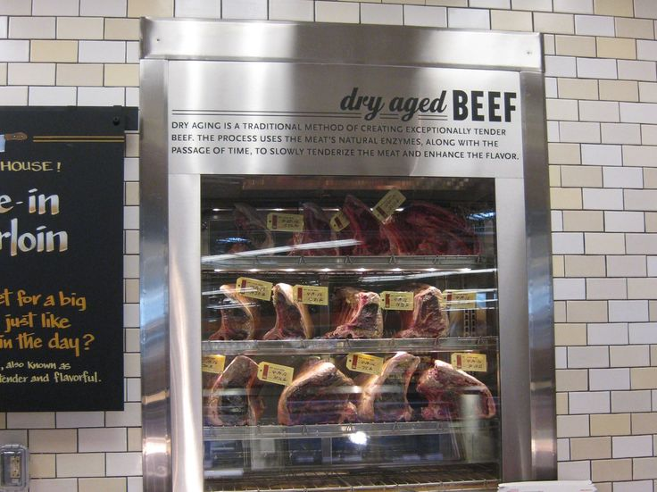Aged beef units for guests to see meats - even try something like ageing meats for extended periods, i.e 100 days etc.   Saw this on Saturday morning kitchen and a place called Lake Road kitchen does 138 day aged beef which was apparently incredible.  Anywhere in CT do this that you know?