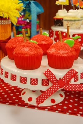 First day of schoolCupcakes Ideas, Schools Parties, Schools Ideas, School Parties, Schools Snacks, Schools Treats, Apples Cupcakes, School Snacks, Schools Cupcakes