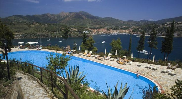 Grand Hotel Elba International Capoliveri Overlooking the Bay of Naregno, the Grand Hotel features a seasonal wellness centre, private beach, and 2 swimming pools. Ferries to Piombino leave from Portoferraio, 16 km away. Capoliveri and Porto Azzurro are both within 3 km.