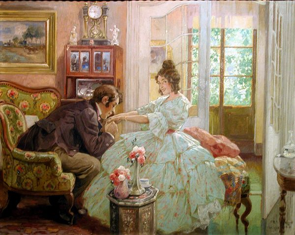 Courting in the Victorian Era - an On-line Guide