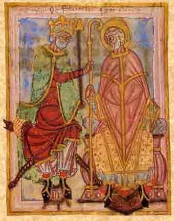 Dagobert Ier restaure l'évêché de Thérouanne et l'attribue à Audommar, futur…