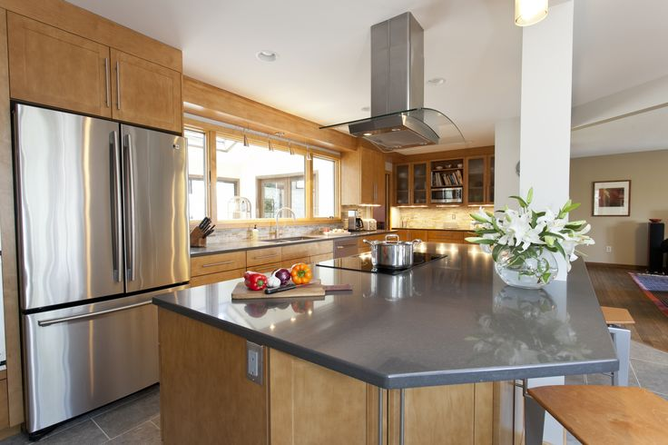 Undercabinet lighting makes this kitchen dazzle #undercabinetlighting #lighting #modern